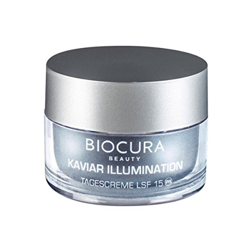 Biocura Beauty Kaviar Illumination Tagescreme, Luxuriose Spezialpflege 50 ml