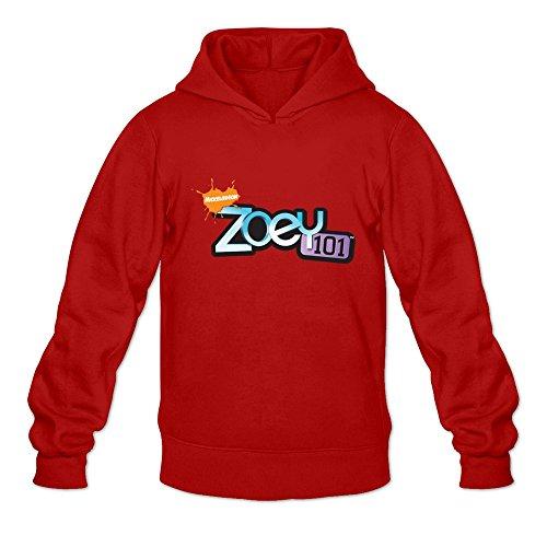 Zoey 101 Logo Joke Red Long Sleeve Sweatshirt For Teenagers Size S
