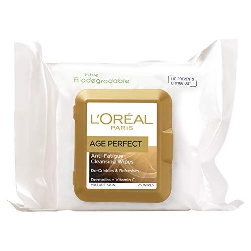L'Oréal Paris Age Perfect Cleansing Wipes,25 wipes