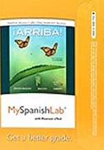 MyLab Spanish with Pearson eText -- Access Card -- for ¡Arriba!: comunicación y cultura, 2015 Release (One Semester) (6th Edition)