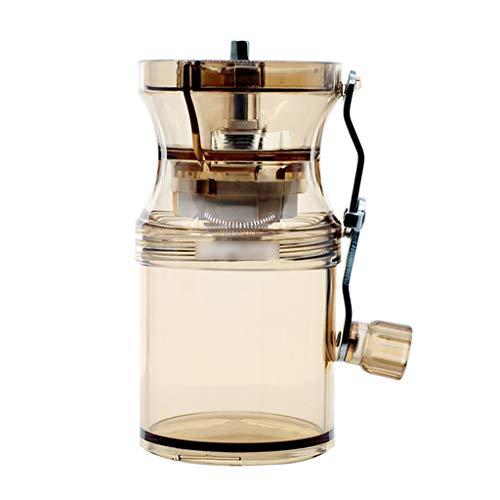 Koffiemolen, handmatige koffiemolen, wasbaar, stofdichte handmatige koffiemolen, slijtvast en gemakkelijk te reinigen