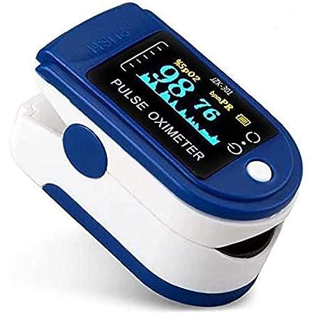 ER Pequeño y Conveniente Yema del Dedo Monitor de saturación de oxígeno en la Sangre con Pantalla LED Oxí/Metro Lecturas Digitales