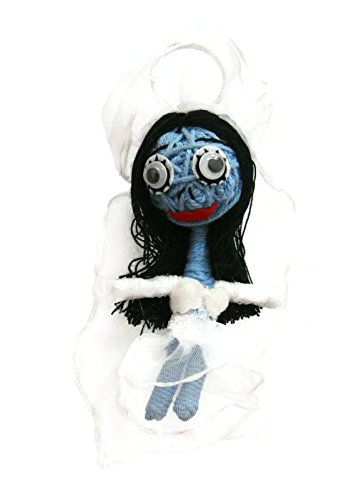 Corpse Bride Nightmare Before Christmas (A-85) Voodoo String Doll Keyring Keychain