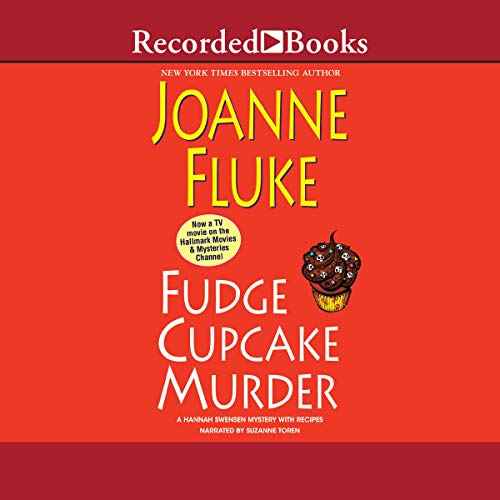 Fudge Cupcake Murder Audiobook By Joanne Fluke cover art