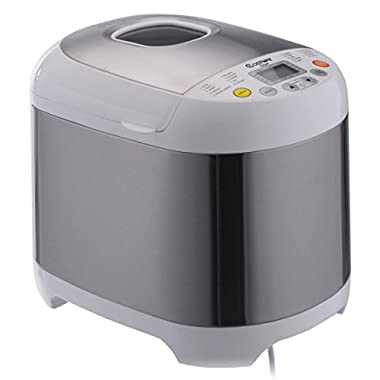 Costway Stainless Steel 2LB 550W Electric Bread Maker Machine Programmable Home Kitchen