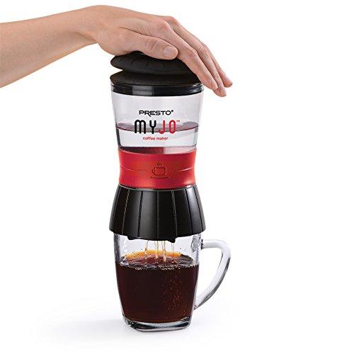 Presto 02835 MyJo Single Cup Coffee Maker, Black
