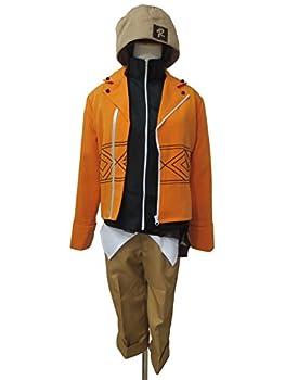 Xiao Wu Mirai Nikki Observance Diary Yukiteru Amano Yuki Outfit Cosplay Costume  Male L  Orange