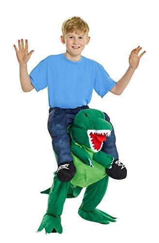Kinder Dinosaurier Huckepack Kostüm Lustiges Täuschungskostüm Trag Mich Verkleidung