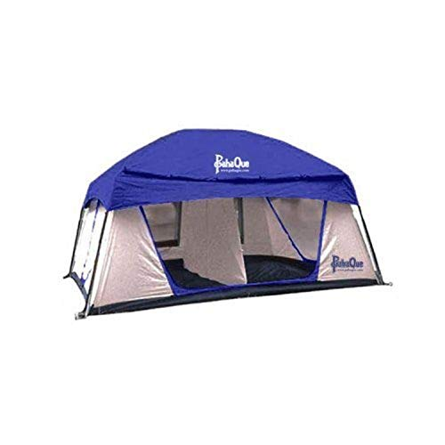 PahaQue Promontory XD 8-Person Camping Tent with Awning, Easy Set Up, Waterproof Rainfly, Stakes,...