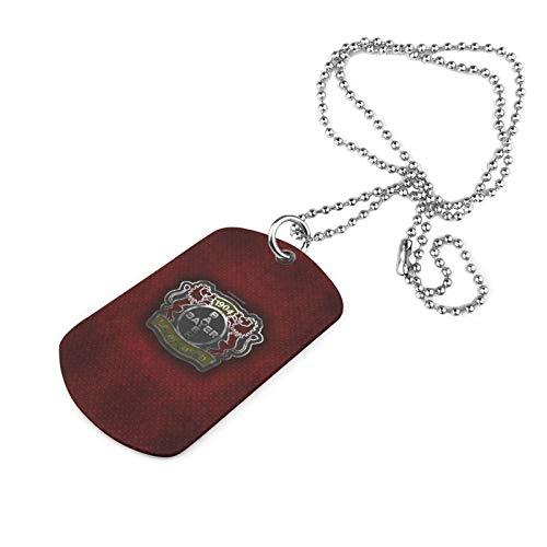 Y Y Y Ba-Yer Leverk-Usen Armee Marke Halskette Druck Halskette Eisen Halskette Trend Mode