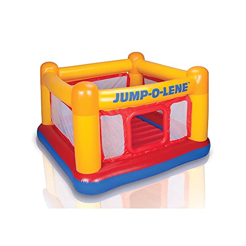 Intex Inflatable Jump-O-Lene Playhouse Trampoline Bounce House for...