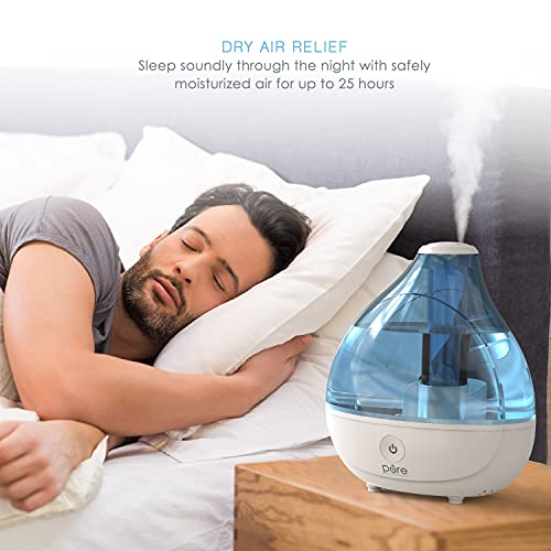 Pure Enrichment® MistAire™ Ultrasonic Cool Mist Humidifier -...