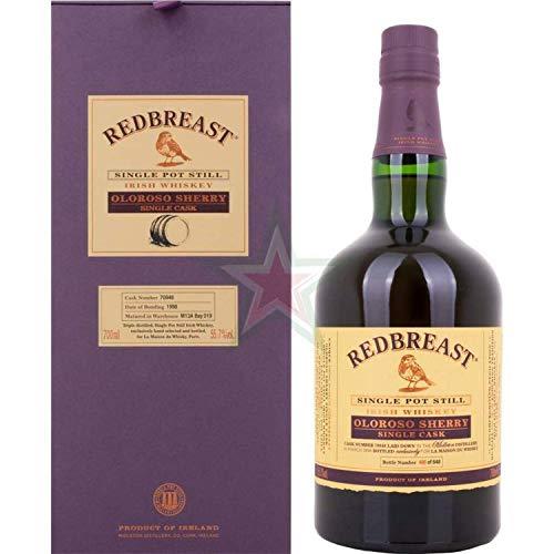 Redbreast Single Pot Still Irish OLOROSO SHERRY Single Cask 1998  Whisky (1 x 0.7 l)