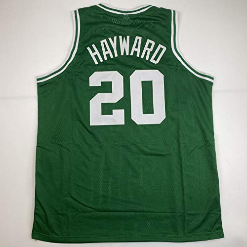 Unsigned Gordon Hayward Boston Green Custom Stitched Basketball Jersey Size Men's XL New No Brands/Logos