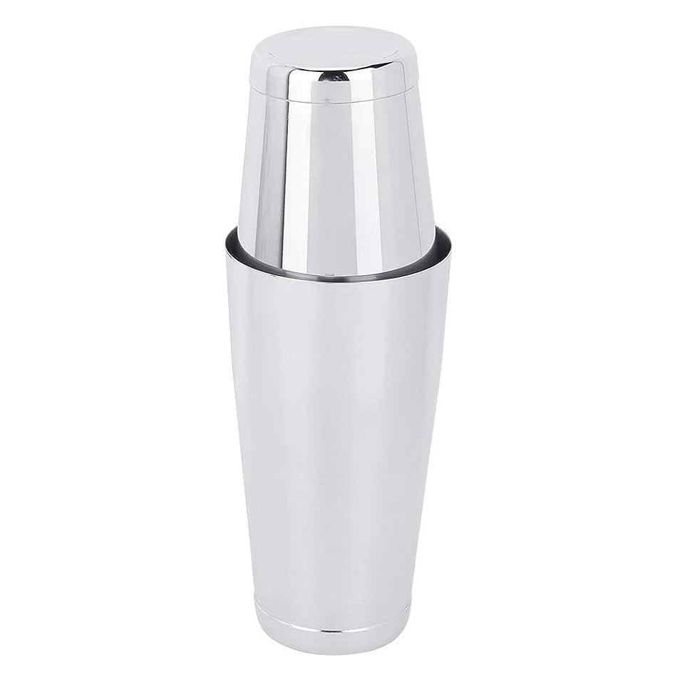 ディレクトリ原油一口シルバーの滑らかな表面耐久性のあるマティーニシェーカー、ドリンクシェーカー、ホームコーヒーショップバーシェーキングツール用のステンレス鋼の快適なハンドル