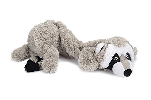 Karlie 521611 Hundespielzeug Xl Plüsch Waschbär Rocco, 54 Cm Igelball Eingenäht