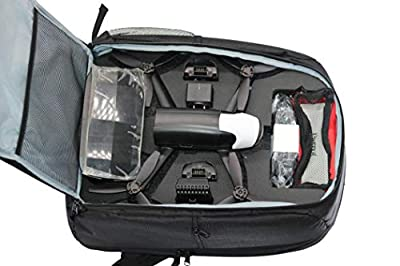 ADESHOP RC Drone Bag, Backpack Portable Shoulder Carrying Case For Parrot Bebop 2 Power FPV from Adeshop