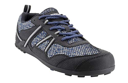 Xero Shoes TerraFlex - Men's Trail Running and Hiking Shoe - Barefoot-Inspired Minimalist Lightweight Zero-Drop - Navy