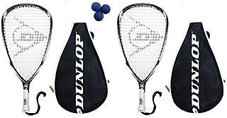 Dunlop Blackstorm Titanium Raquetas + 3pelotas