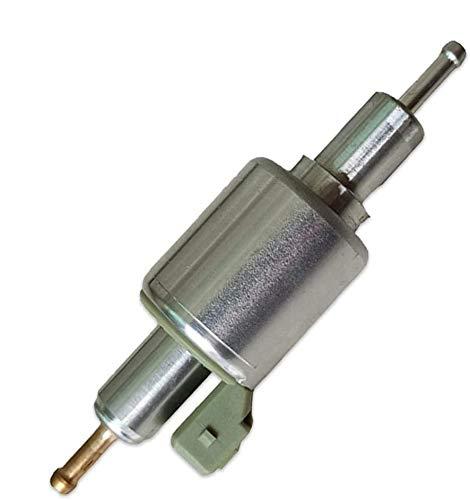 Ksruee Bomba de Combustible Universal para Calentador de estacionamiento de 12V/24V Compatible con Calentadores Webasto Eberspacher de 2KW a 8KW, Bomba de diésel para Calentador de Aire de aut