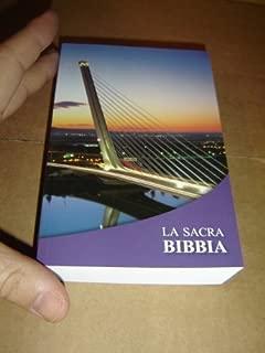 Italian Pocket Bible - La Sacra Bibbia La Nuova Diodati / Pocket Size Protestant Bible in Italian Language / The Bridge - Great for Students and people on the go / C03SE