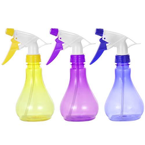 DOITOOL alta calidad 3 unids 250 ml plástico riego puede flores plantas pote riego jardín herramientas mano presión rociador spray latas (color al azar)