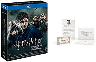 Harry Potter Collection (Standard Edition) (8 Blu-Ray) + Kit Hogwarts