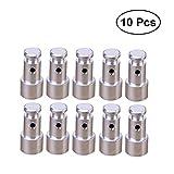 BESTONZON 10 Piezas de Repuesto Flotante Universal para Suministros de ollas a presión -1.9x0.9x0.7cm (Plateado)