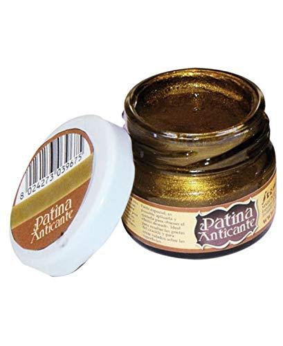 Stamperia Patina Anticante-20 ml-Oro Antiguo, Multicolor, 4.