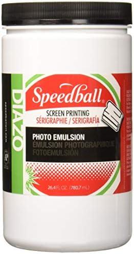 Speedball Diazo Photo Emulsion, 26.4-Ounce