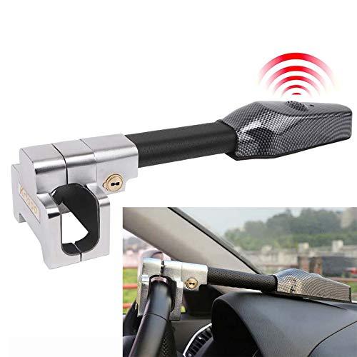 Antifurto Bloccasterzo Meccanico Sicurezza Auto Ruota di Universale Antifurto di Blocco di Allarme Serratura Protezione T-Lock