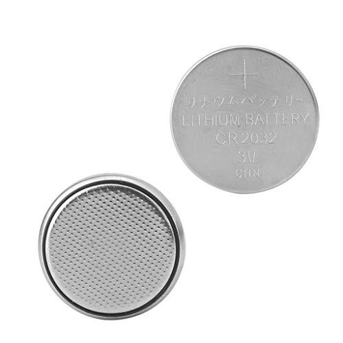 Ontracker 1Pc CR2032 CR 2032 Knopfzelle Knopfzelle Für Rechner Maßstab Remote Watch 3V -Silber