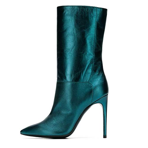 XER Women'S Boots stijlvolle en comfortabele puntige Stiletto enkellaarzen maat 34-46 voor Fancy Dress Party