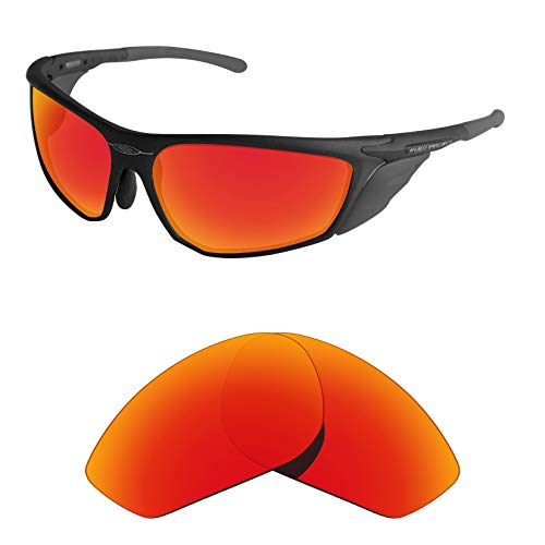 Tintart Performance Lenses Compatible with Rudy Project Zyon Polarized-Fire Red