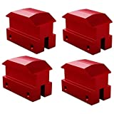 Nrpfell Lift Pads Jack Pad Billet Anodized Red Aluminum Floor Jack Bolt on