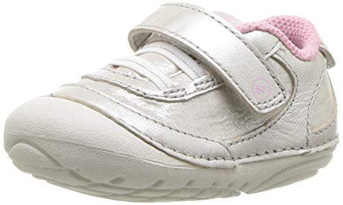 Stride Rite baby girls Soft Motion Jazzy Sneaker, Champagne, 4 Toddler US