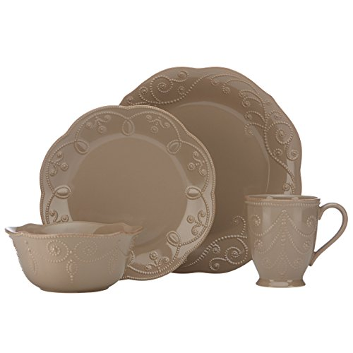 Lenox French Perle Latte 4 Piece Place Setting