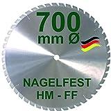 HM Sägeblatt 700 x 35 mm NAGELFE...
