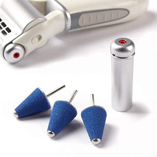 Emjoi Micro-Pedi Precision Kit - Cone Shaped Micro-Mineral Refill Rollers