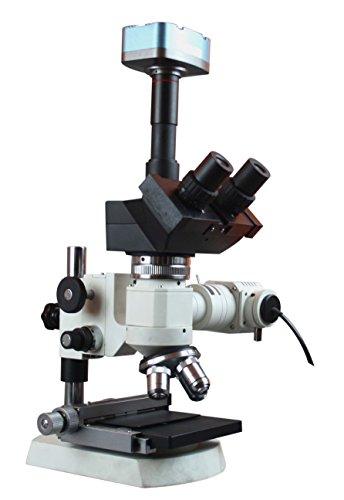 Radical 600x Industrial Metallurgy Reflected Light Microscope Polarizer Analyzer W 3mpix USB Camera