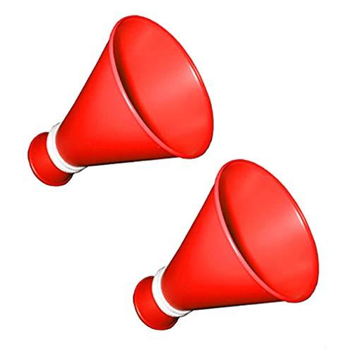 ミニメガホン(赤色)2本セット プライム