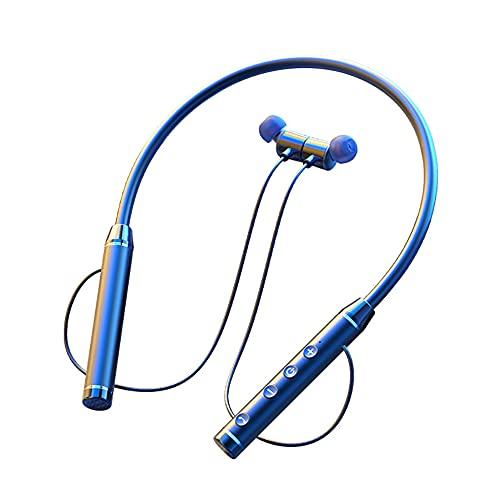 Firwood Auriculares Bluetooth 5.0, Auriculares A Prueba De Agua IPX Auriculares A Prueba De Agua, 60H Tiempo De Juego, Micrófono, Auriculares Deportivos Inalámbricos para Correr iPhone/Android,Rojo