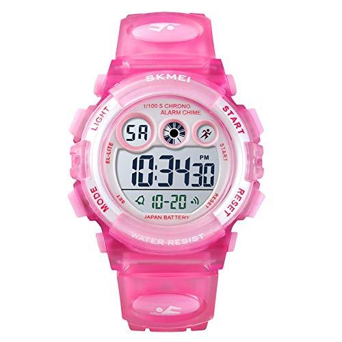 Relógio Digital, Skmei, Meninas, Rosa