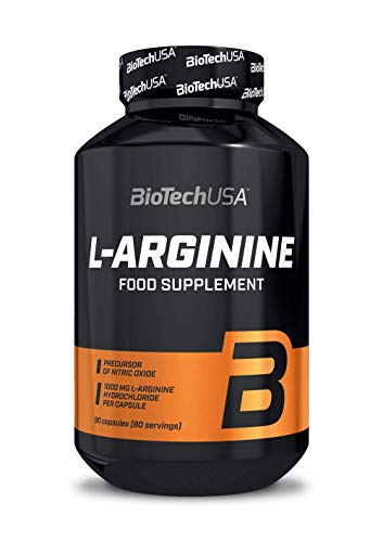 L-Arginine 90 capsule - Arginin - BiotechUSA