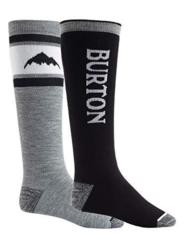 Burton Herren Snowboard Socken Weekend Midweight, True Black, L, 14926103001