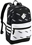adidas Unisex Classic 3S III Backpack, Black - White Core Aop, One Size