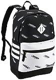 adidas Unisex Classic 3S III Backpack, Black - White...