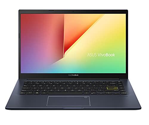 "ASUS VivoBook 14 M413 Everyday Value Laptop (AMD Ryzen 5 3500U 4-Core, 8GB RAM, 256GB SSD, AMD Vega 8, 14.0"" Full HD (1920x1080), Fingerprint, WiFi, Bluetooth, Webcam, Win 10 Home) (Renewed)"