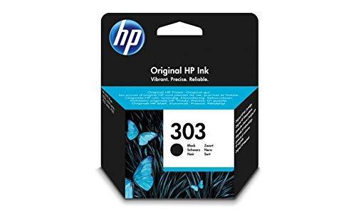 HP Inc. Ink/Original 303 Black **New Retail**, T6N02AE#301 (**New Retail**)