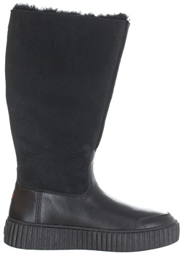 Pajar Tall Winter Leather Boots Cathay (Black) (40 EU (9.5-10 M US Women))